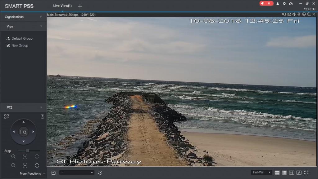 Barway Camera view along the Sea Wall